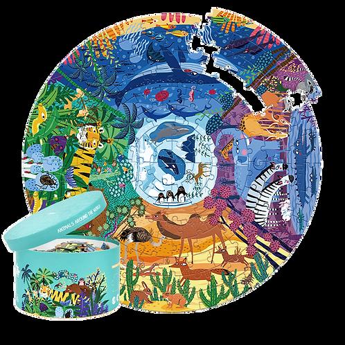 MiDeer Animals Around The World 150P Puzzle