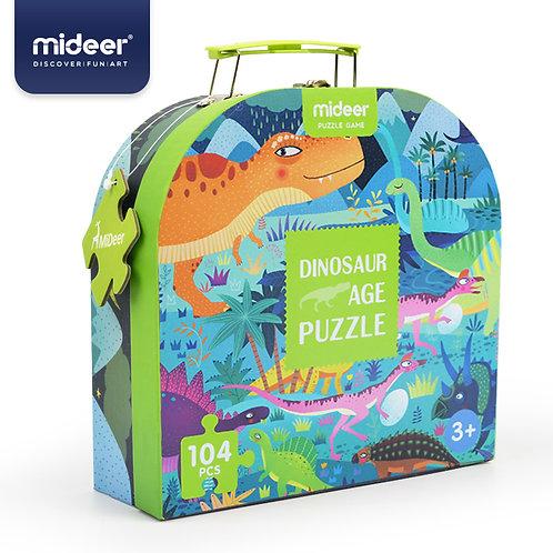 Mideer Gift Box Puzzle-Gift Box Puzzle-Dinosaur Age