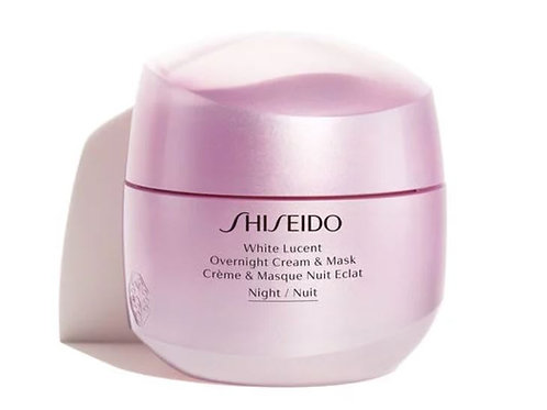 Shiseido White Lucent Overnight Cream and Mask (75ml)