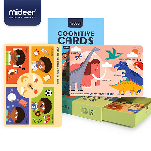 Mideer Cognition Card Encyclopedia of Life Cognition Basic Cognition Cards