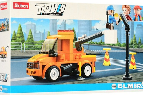 Sluban M38-B0781D Town - City Cleaner Repair Truck 122 pcs