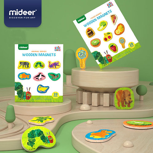MiDeer Wooden Magnets 20 pcs/box