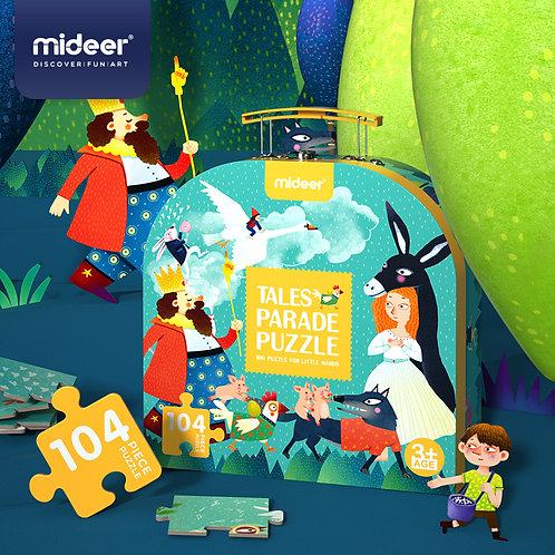 MiDeer Gift Box Puzzle-Fairy Tale Parade