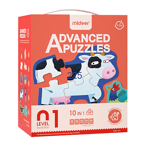 MiDeer Level Up Educational Puzzle By Level 1