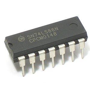 Circuito Integrado : Circuito integrado ls compuerta lógica xor