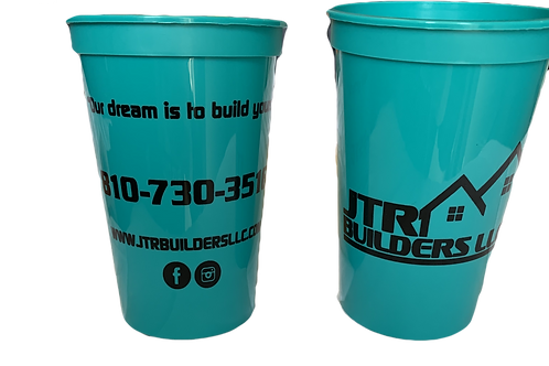 JTR Builders 12 oz Cup (Pack of Two)