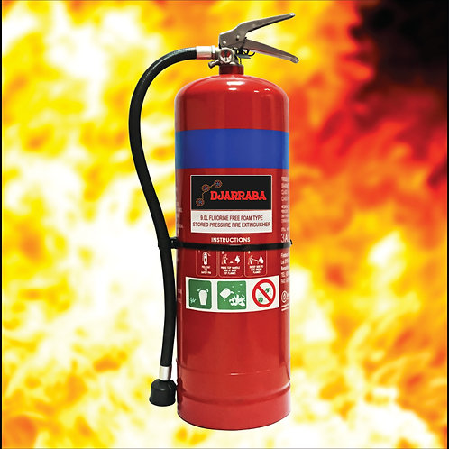 9L Firesaint Eco Foam Fire Extinguisher