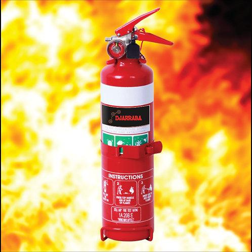 1KG ABE Dry Chemical Powder Fire Extinguisher