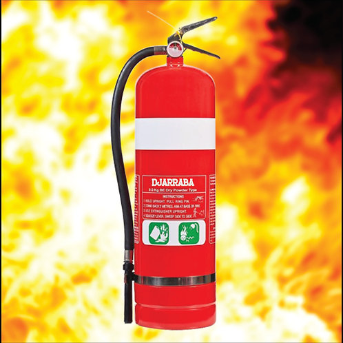 9KG BE Dry Chemical Powder Fire Extinguisher