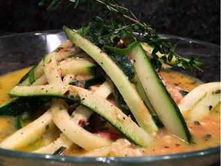 Chef Steven's Zucchini Pasta