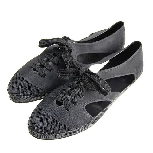 F Troupe Bathing Shoe in Black Size 38