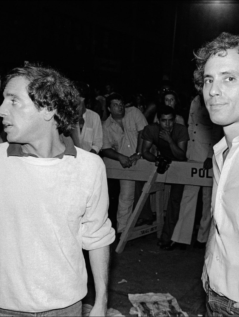 Ian Schrager (right) and Steve Rubell ou