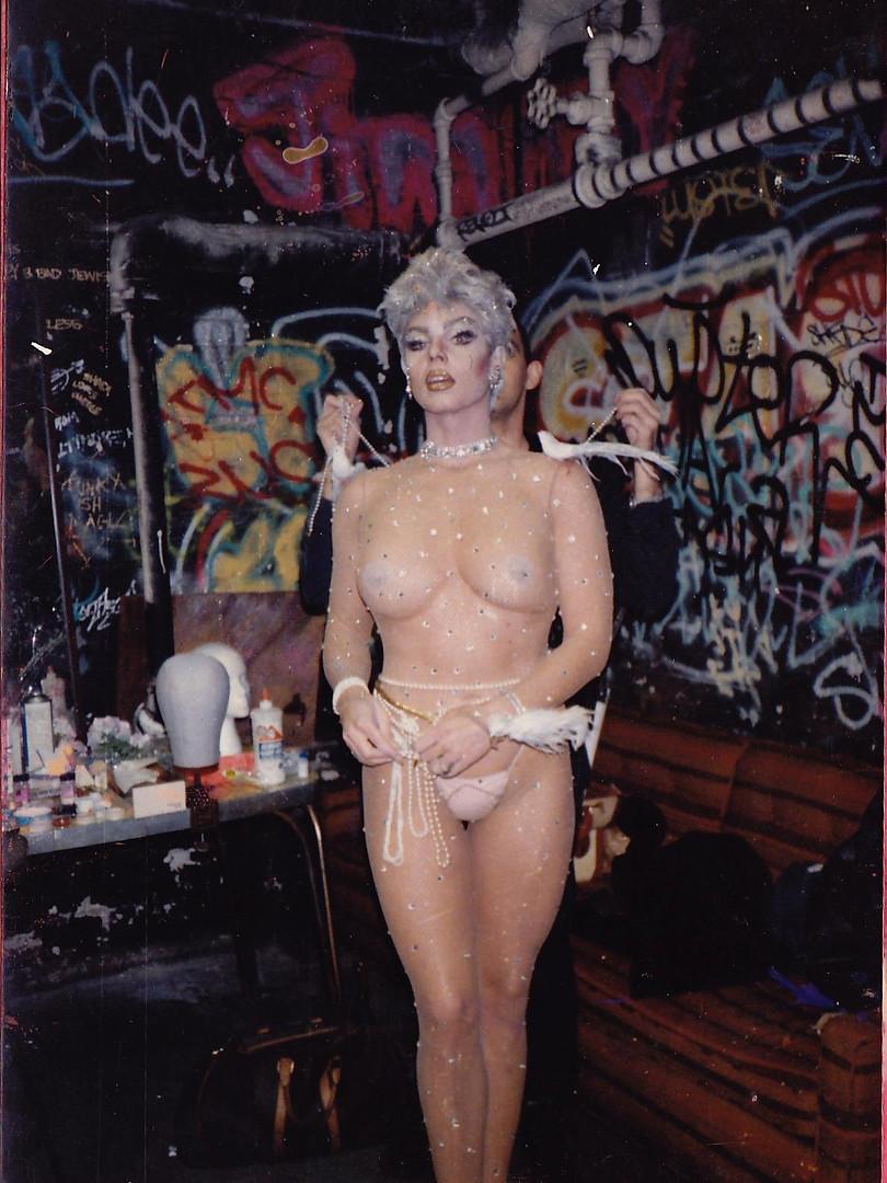 1980's New York.....Chrysis getting read