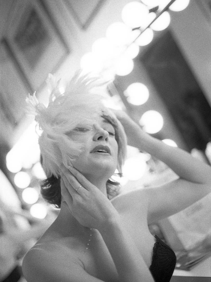 Ann Magnuson in 1992. New York.  Catheri