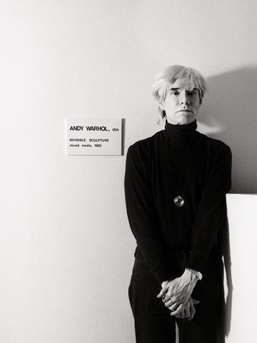 """Andy Warhol's """"Invisible Sculpture"""" Sour"""