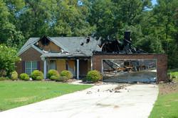Fire Damaged Home