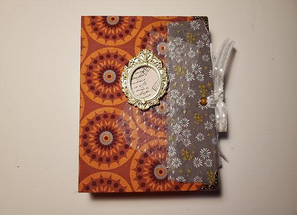 Vintage-style Handmade Journal