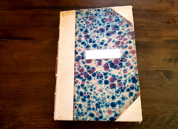 Colorful Handsewn Journal