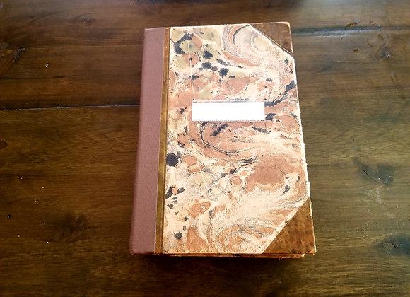 Artsy Vintage Handsewn Journal