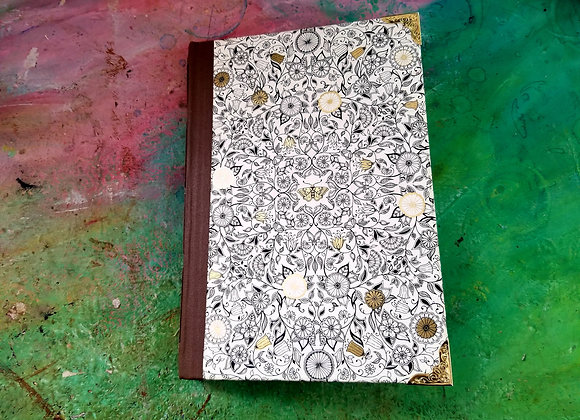 Whimsical Vintage Handmade Journal