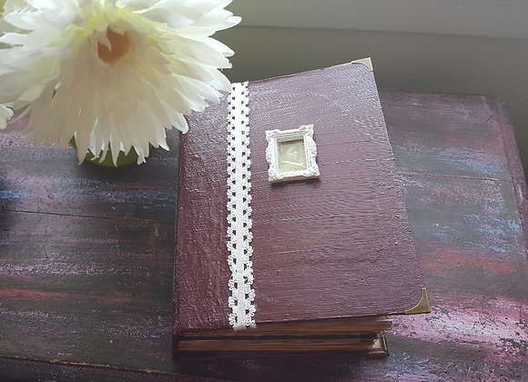 Super Chunky Sewing Themed Vintage Lady Journal