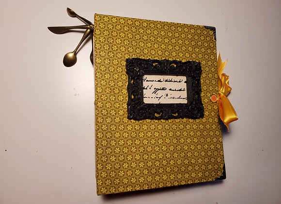 Chunky Handmade Recipe Book