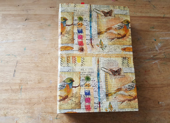 Large Chunky Bird-Cover Handsewn Journal