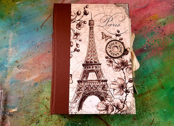 Vintage Travel-themed Journal