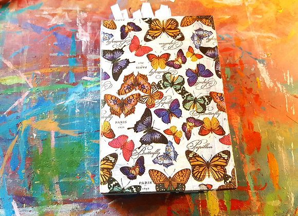 Chunky Butterfly-cover Handmade Spring Journal