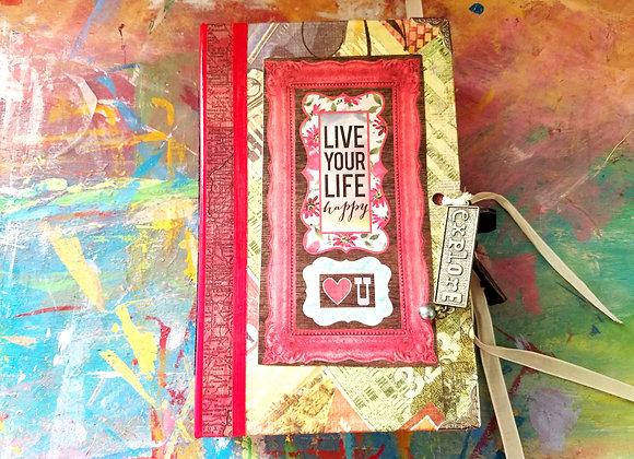 Tropical Travel/Writing Handmade Journal