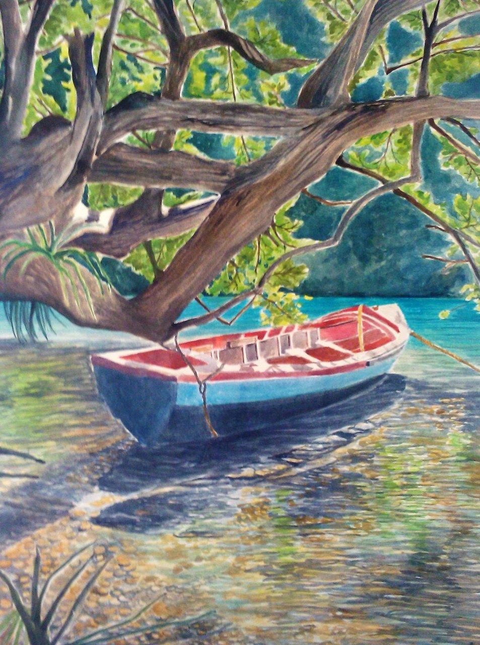 Blue Lagoon Boat