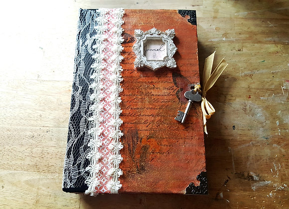 Large Vintage Handsewn Junk Journal