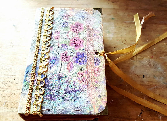 Small Vintage Handsewn Journal