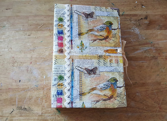 Medium-sized Bird Cover Handsewn Journal