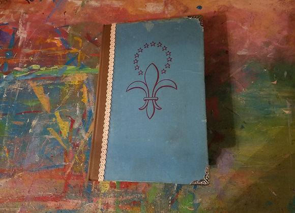Vintage Handsewn Journal (Blue)