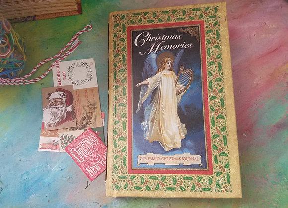 Vintage Handewn Christmas Journal