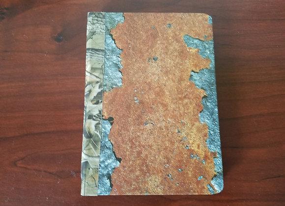Vintage Handsewn Journal (Grunge-themed)