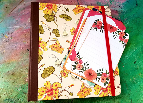 Super Large Floral Handmade Journal