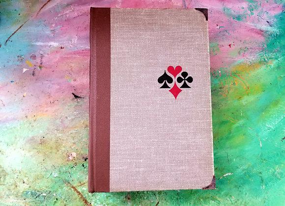 Handmade Vintage Journal (Playing Card theme)