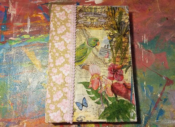 Medium Peacock Handsewn Journal