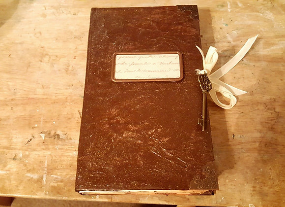 Faux Leather Vintage Handsewn Journal