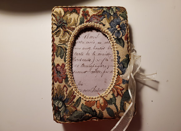 Chunky Vintage Style Handsewn Journal (Framed Cover)
