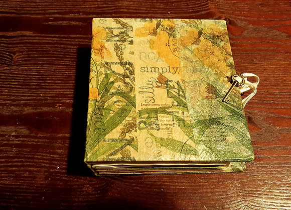 Small Junky Handsewn Journal