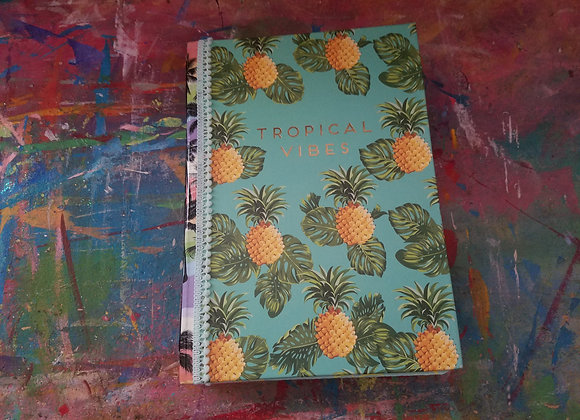 Tropical Themed Handsewn Journal