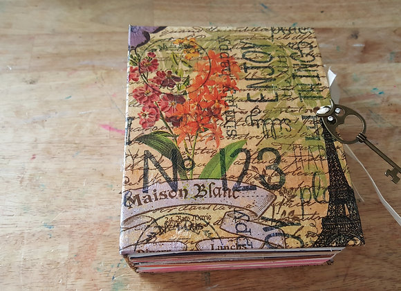Small Butterfly Cover Junk Journal