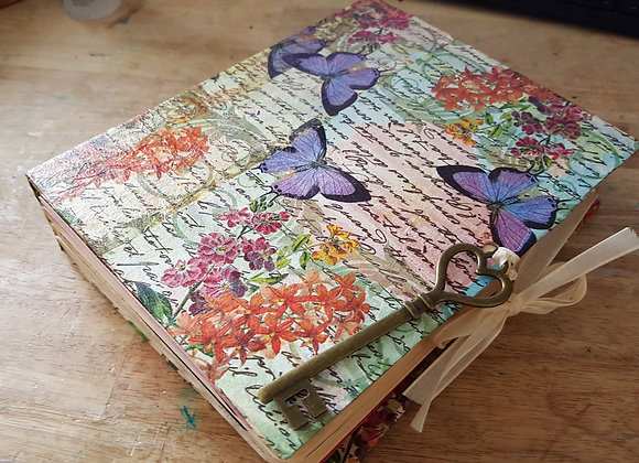 Large Butterfly Cover Junky Journal