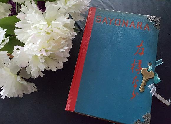 Chunky Japanese Art Inspired Vintage Journal