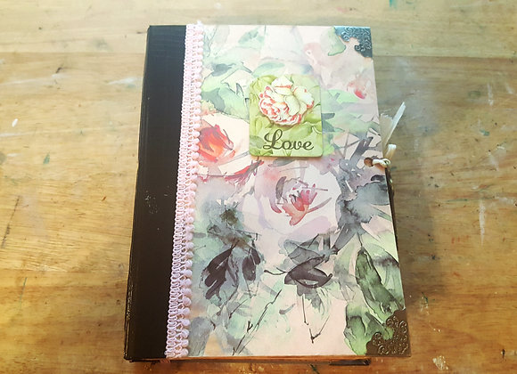 Chunky Love Floral Romantic Handsewn Journal
