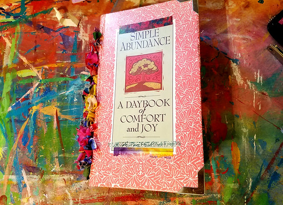 Fabric Inspired Handmade Journal