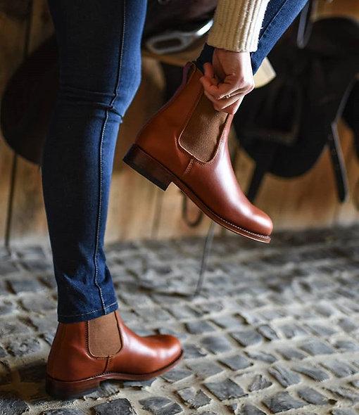 Chelsea boots cuir lisse personnalisable